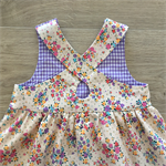 Cross Back Pinafore - your choice of fabric & size