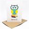 Teacher Card - Owl on Books - TEA006 - Thank You Card
