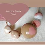 Love is a gentle heart. N-172CE.
