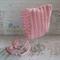 Dusty Pink Newborn Crochet Baby Pixie Bonnet Beanie Hat Photo Prop