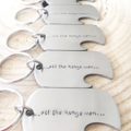 Groom Gift, Bottle Opener Dog Tag, Wedding Ideas, Gift For Men, Keyring Dog Tag