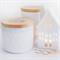SOY CANISTER CANDLE 50+ hr burn time - White