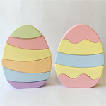 Handmade Wooden Easter Egg Stacker. FREE POST.