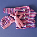 3 piece knitted baby set