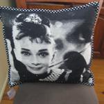 Audrey Hepburn Cushion Cover