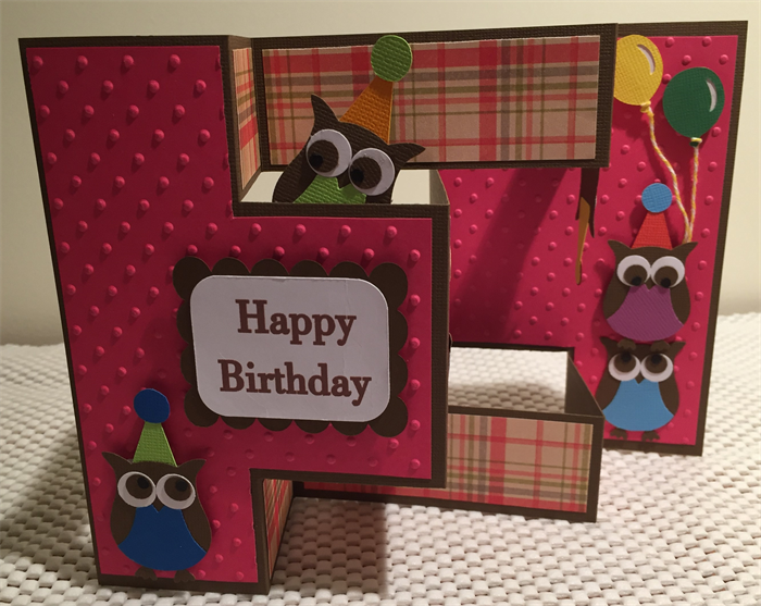Handmade tri fold birthday card lovebirds creations madeit handmade tri fold birthday card bookmarktalkfo Gallery