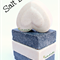 Salt Bar Soap with Pink Himalayan Salt and Oat's Milk ( 1x 100g each) -