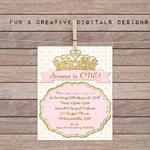 Crown Princess Invitation