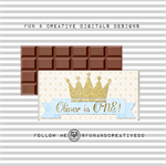 Crown Prince Chocolate Wrapper