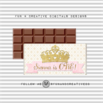 Crown Princess Chocolate Wrapper