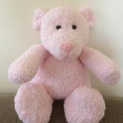 Betty - Hand knitted bear