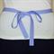 Half Apron - Retro Cottage Chic womens apron - lined cotton apron - flower theme