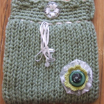 Loom Knitted Bag