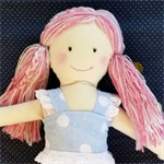 Mermaid Rag Doll. Unique custom made rag dolls