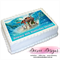Moana Personalised A4 Edible Icing Cake Topper