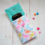 Flamingo mobile cover, IPod cover, Glasses case