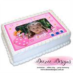Princess Photo Personalised A4 Edible Icing Cake Topper