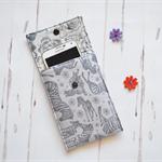Zebra phone cover, gadget bag, IPod case