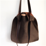 leather bag, handmade leather bag, hand stitched leather