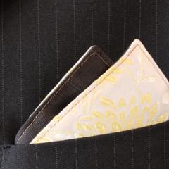 Pocket Square - Chrysanthemum