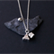 Stone Silver Necklace