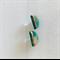 MINI AUSTRALIS {Daintree} - Half Moon w/ Copper Foil Bar - Studs