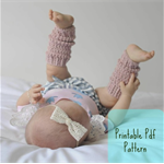 Baby Leg Warmers, Cotton - Tiny Dancer Leg Warmers