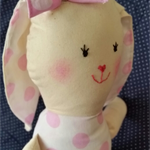 Plush handmade Rabbit