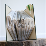 Dream - Folded book art