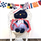 OOAK Sailor Easter Bunny: 12 of 12 from our Limited Edition Easter Collection