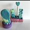 Miniature Fantasy Garden - Polymer clay plant / cactus / cacti / sculpture