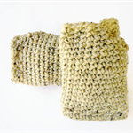 Fingerless mittens Woollen crochet mittens warm winter gloves