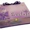 Purple Butterflies Time Capsule Keepsake Box