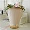 Flower crown, Ivy and pink rose bud flower crown.