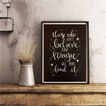 'BELIEVE IN MAGIC'