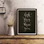 'LOOK AT THE STARS'