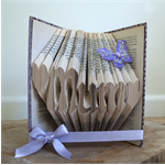 Mum with hearts - Folded book art