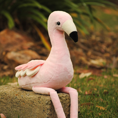 Flamingo Softie Pattern PDF Sewing Pattern for Stuffed Animal Soft Toy
