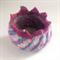 Unique embellished felt trinket/jewellery bowl. One of a kind.