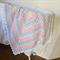 Pastel Shells Baby Blanket