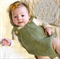 Romper - Merino Wool Knitted Playsuit newborn baby - 0-3 Months