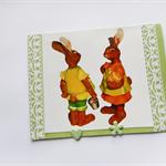 Blank Easter bunny card