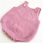 Romper - Merino Wool Knitted Playsuit baby - 6-9 months