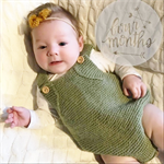 Romper - Merino Wool Knitted Playsuit newborn baby - 0-3 Months