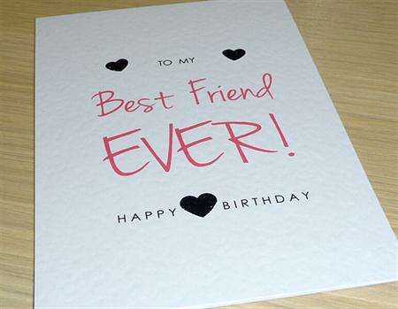 Female Happy Birthday Card