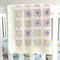 Crochet blanket, wool, white, bedding, pink, purple, mint, newborn gift