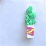 Miniature Garden - Polymer clay plant / cactus / cacti / sculpture / succulent