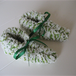 Fluffy Unisex Baby Booties