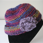 Women's Colourful HandKnitted Beanie