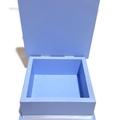 Little Blue Keepsake Trinket Treasure Jewellery Memory Wooden Box